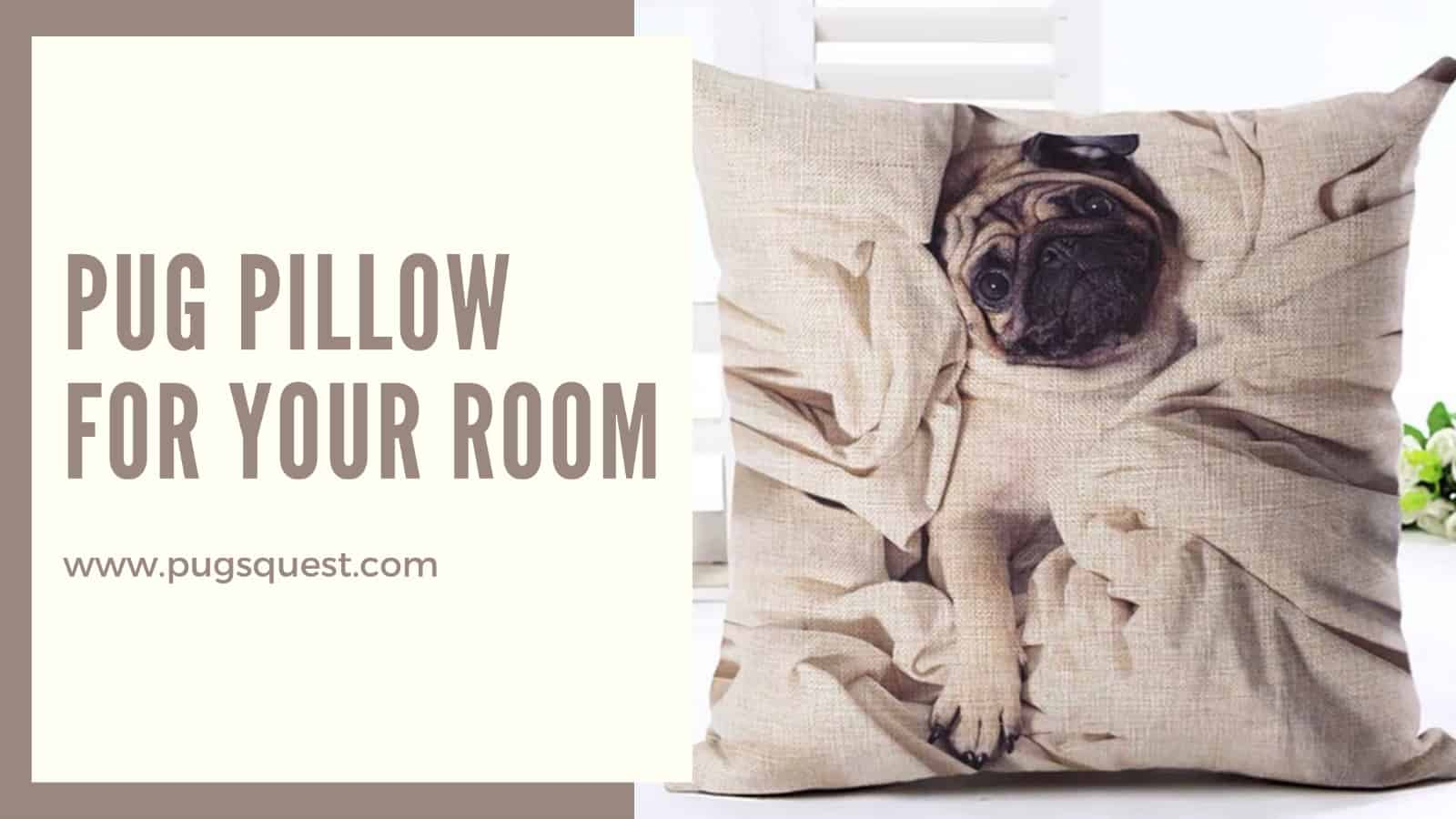 pug pillows