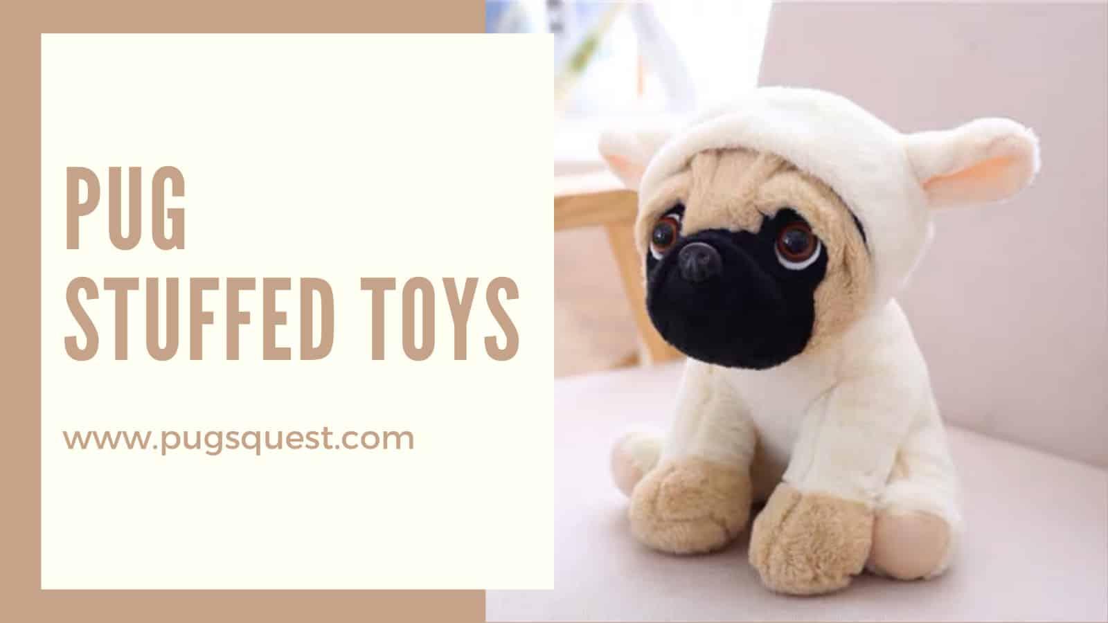 Pug Stuffed Toys